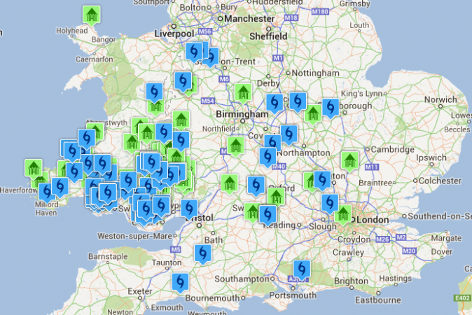 ASHP & GHSP Installation Map - UK