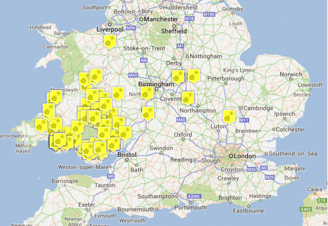 Map of Areas Served WDS Green Energy – Map Uk Solar