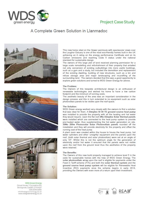 Case Study, Complete Green solution