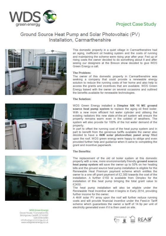 Case Study, District heating