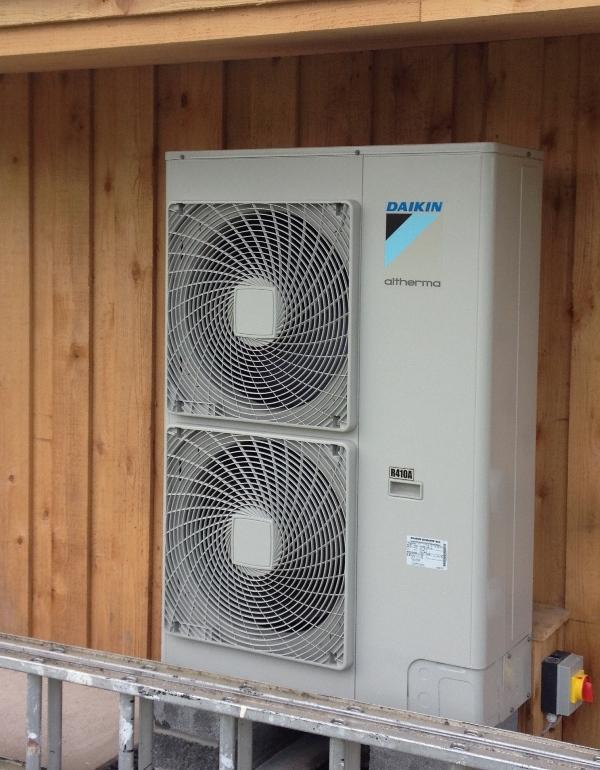 Air Source Heat Pump And Solar Photovoltaic Pv
