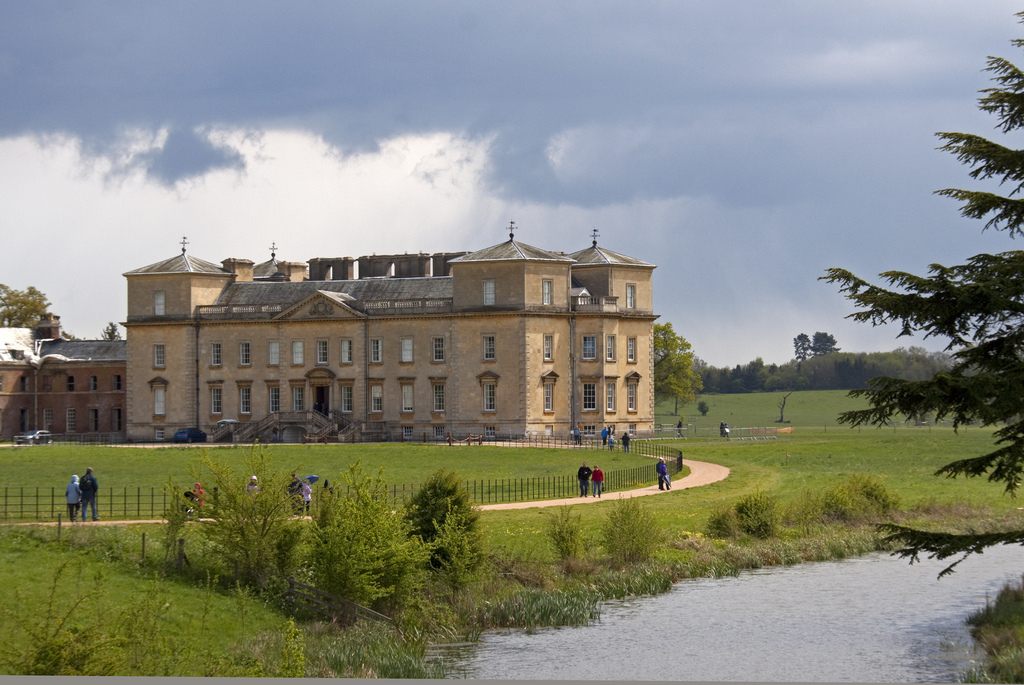 Ground Source Heat Pump At Croome Court Worcestershire