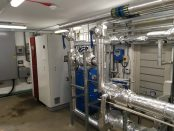 Croome Court plant room Dimplex SI 130 TE